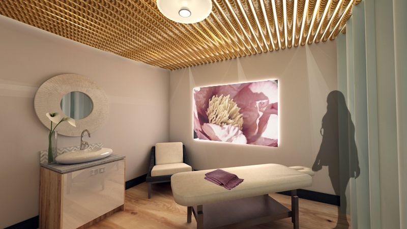 Rendering Of Spa Interior Design Concept And Rendering By Hatch