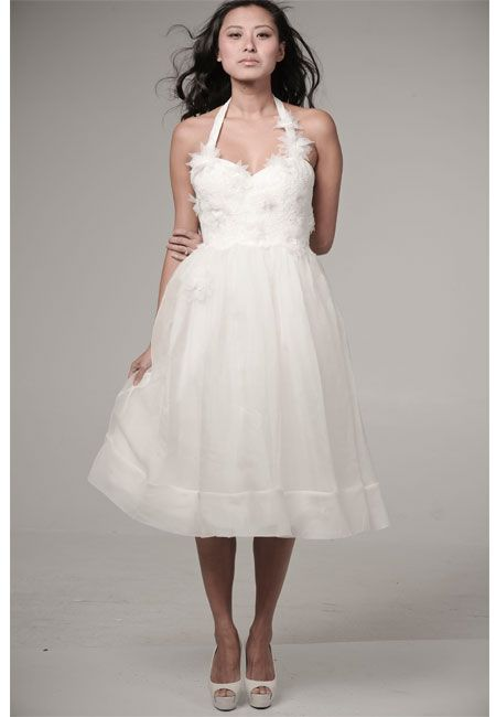 Dress of the Day Ivy Aster Halter Dress Aster Simple weddings