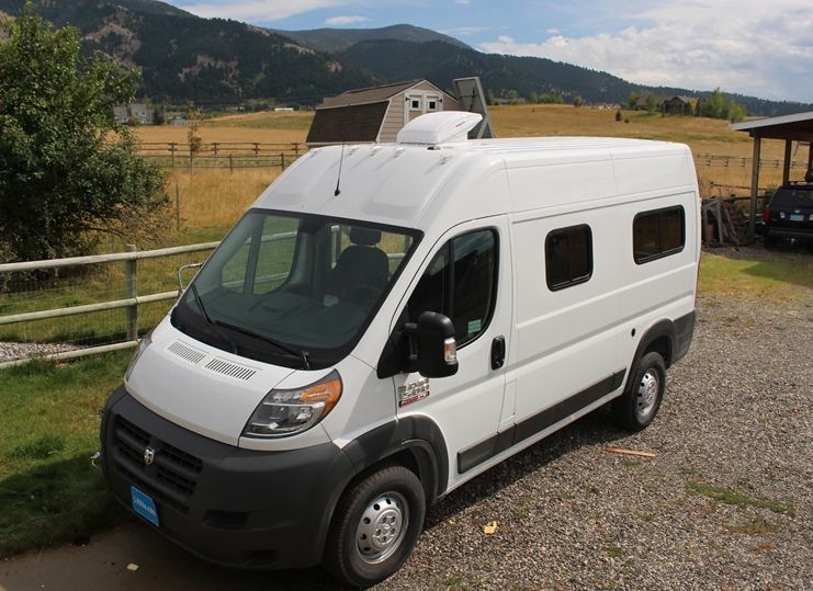 We Bought A Relatively Small And Efficient Ram Promaster