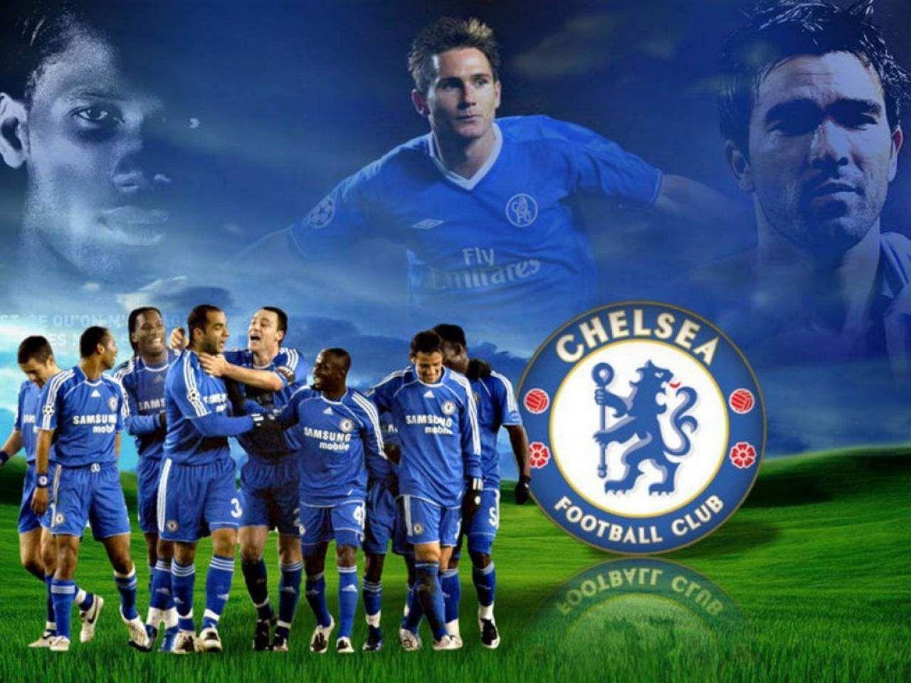 Chelsea FC Desktop Wallpaper 1280x768 54 Wallpapers