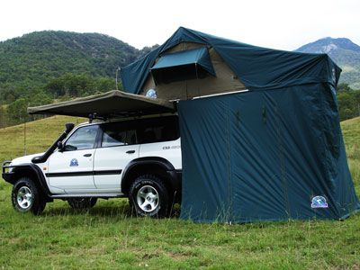 Root Top Tent | Car Roof Tent | Fits Most Vehicles | TentBox