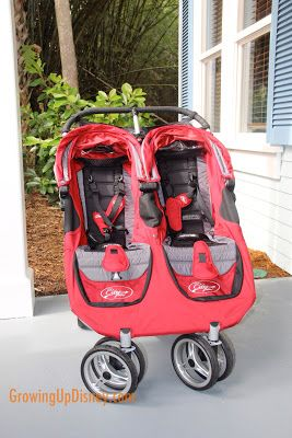 These rental strollers are so much more comfortable and convenient than the hard plastic Disney ones.