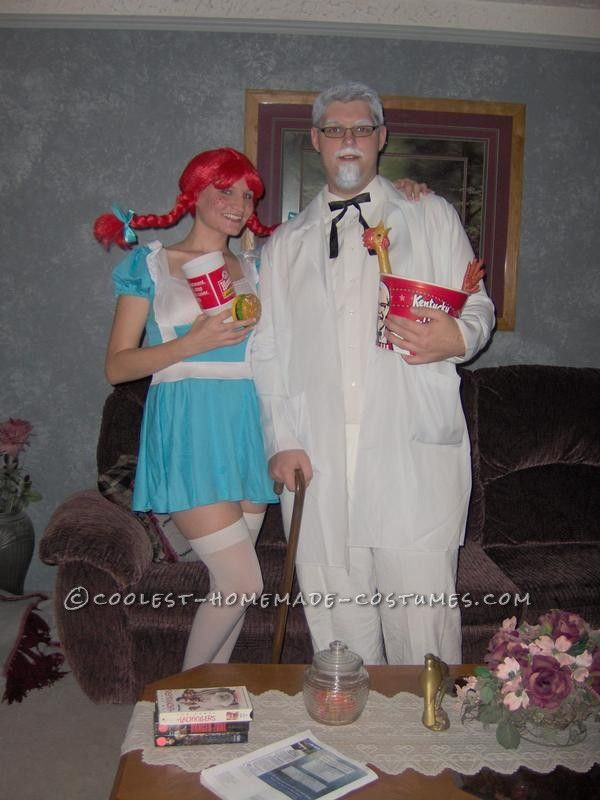 Diy Wendy Fast Food Costume
