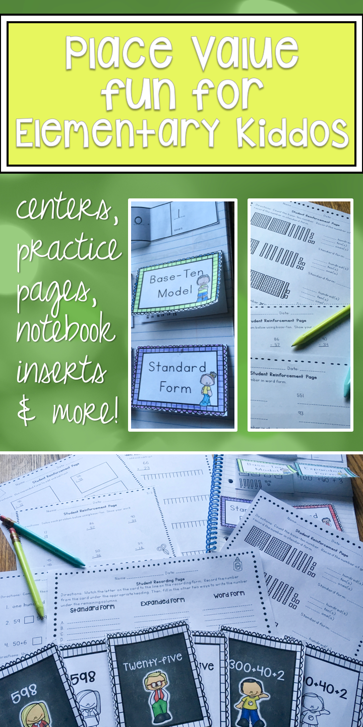 Place value worksheets, activities, lesson plans, and more 4 week ...