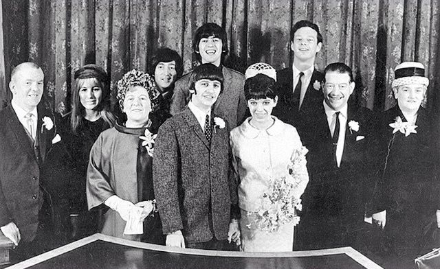 Ringo Starr and Maureen Cox's Wedding