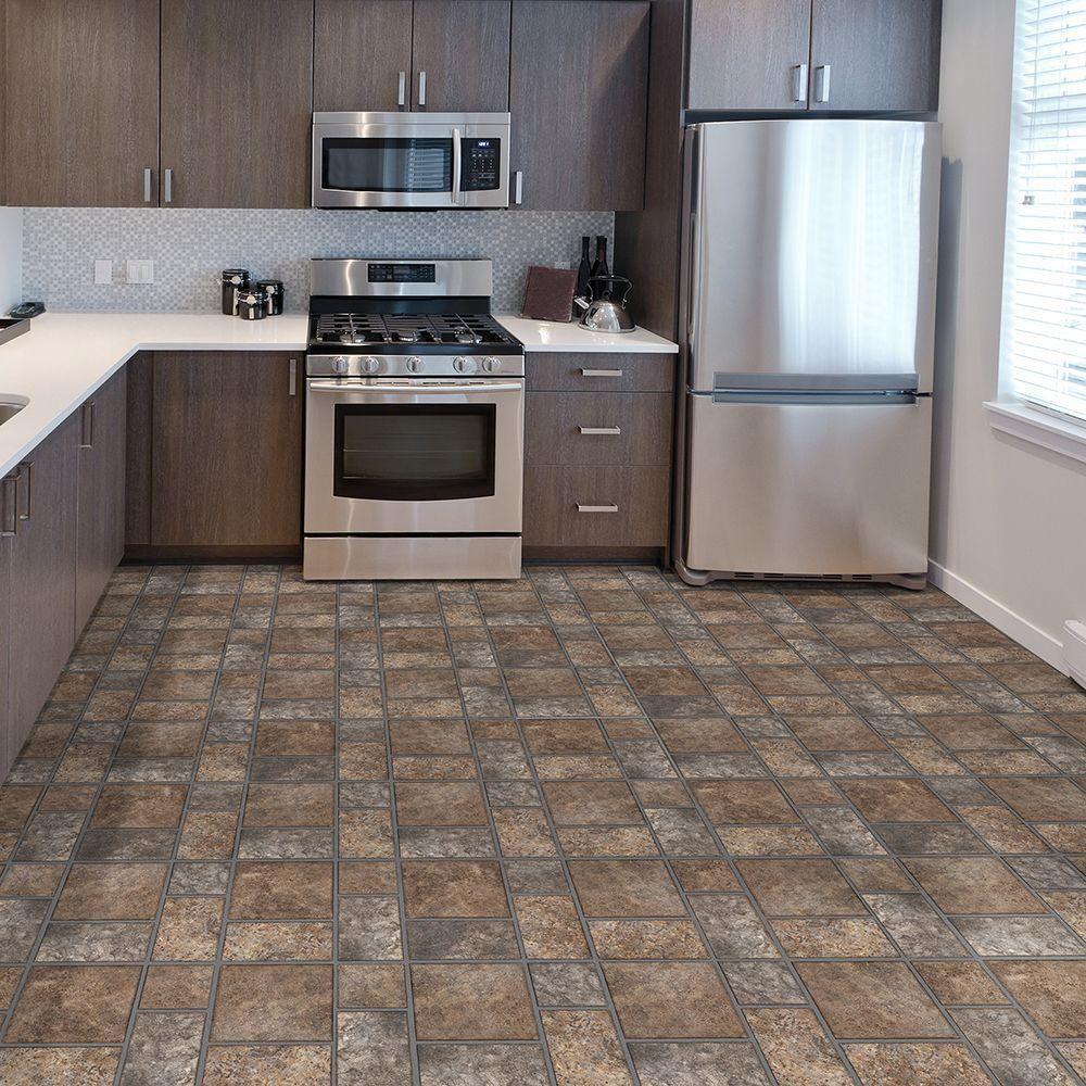 Excellent 12 By 12 Ceiling Tiles Huge 12X12 Tiles For Kitchen Backsplash Rectangular 18 Inch Ceramic Tile 2 By 2 Ceiling Tiles Old 2 X 8 Subway Tile Coloured2X4 Fiberglass Ceiling Tiles Take Home Sample   Allure Yukon Brown Resilient Vinyl Tile ..