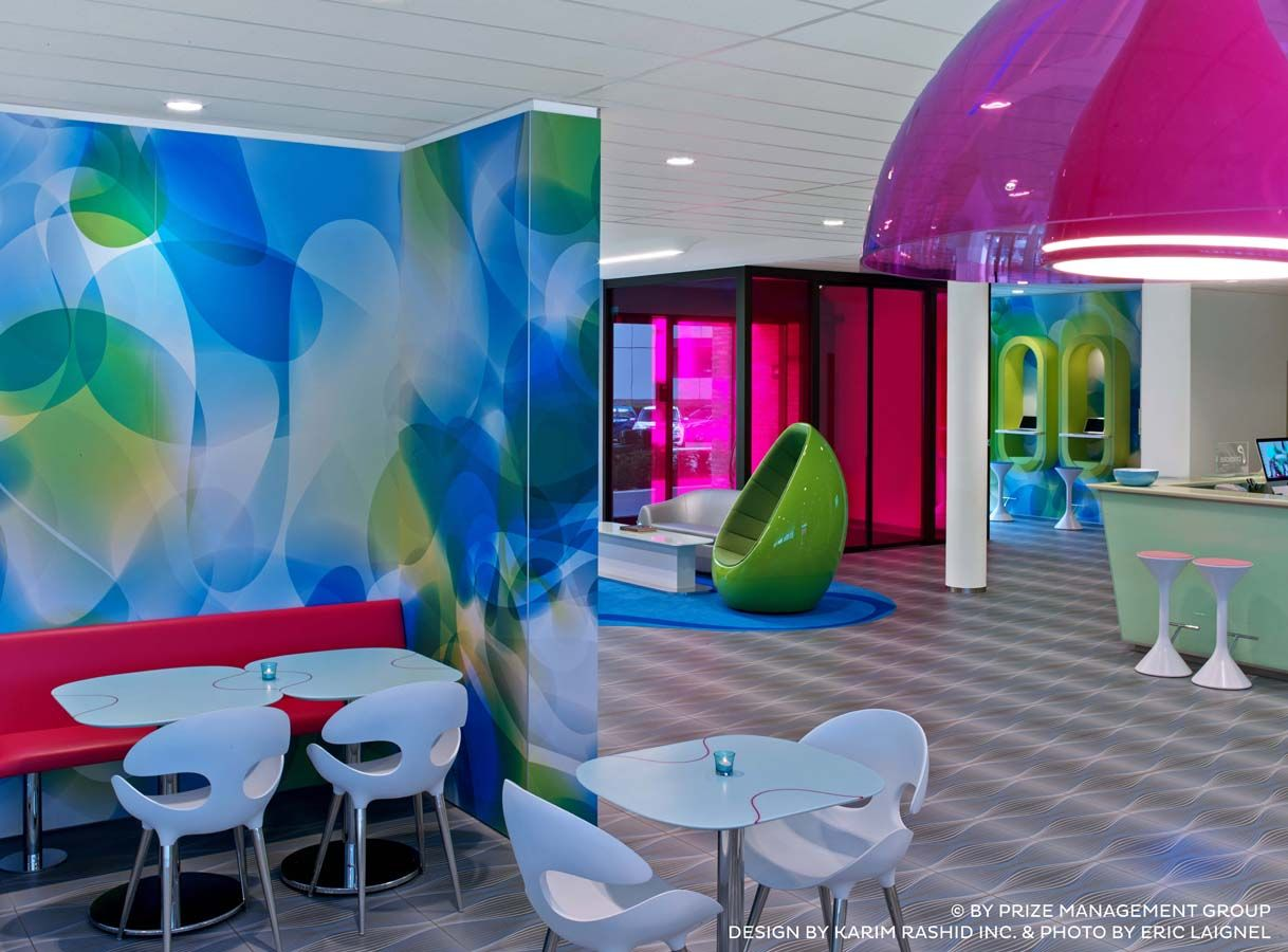 Karim Rashid Furniture Prizeotel Interior By Karim Rashid With Bonaldo Furniture Design