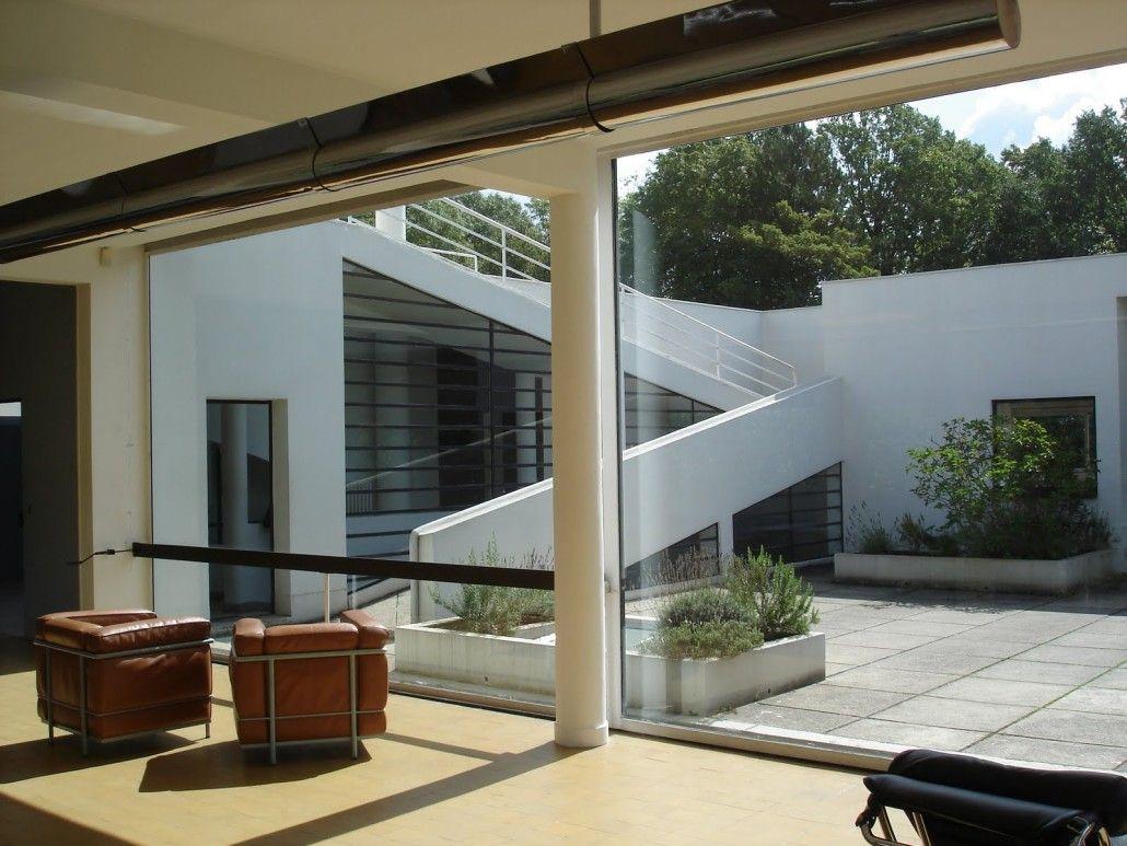 Villa Savoye by Le Corbusier Poissy, France, 1931 | Corbu | Pinterest