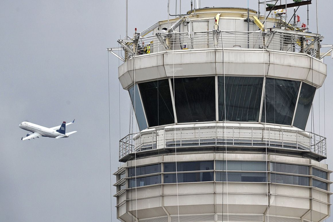 Air traffic controllers, working without pay, ramp up