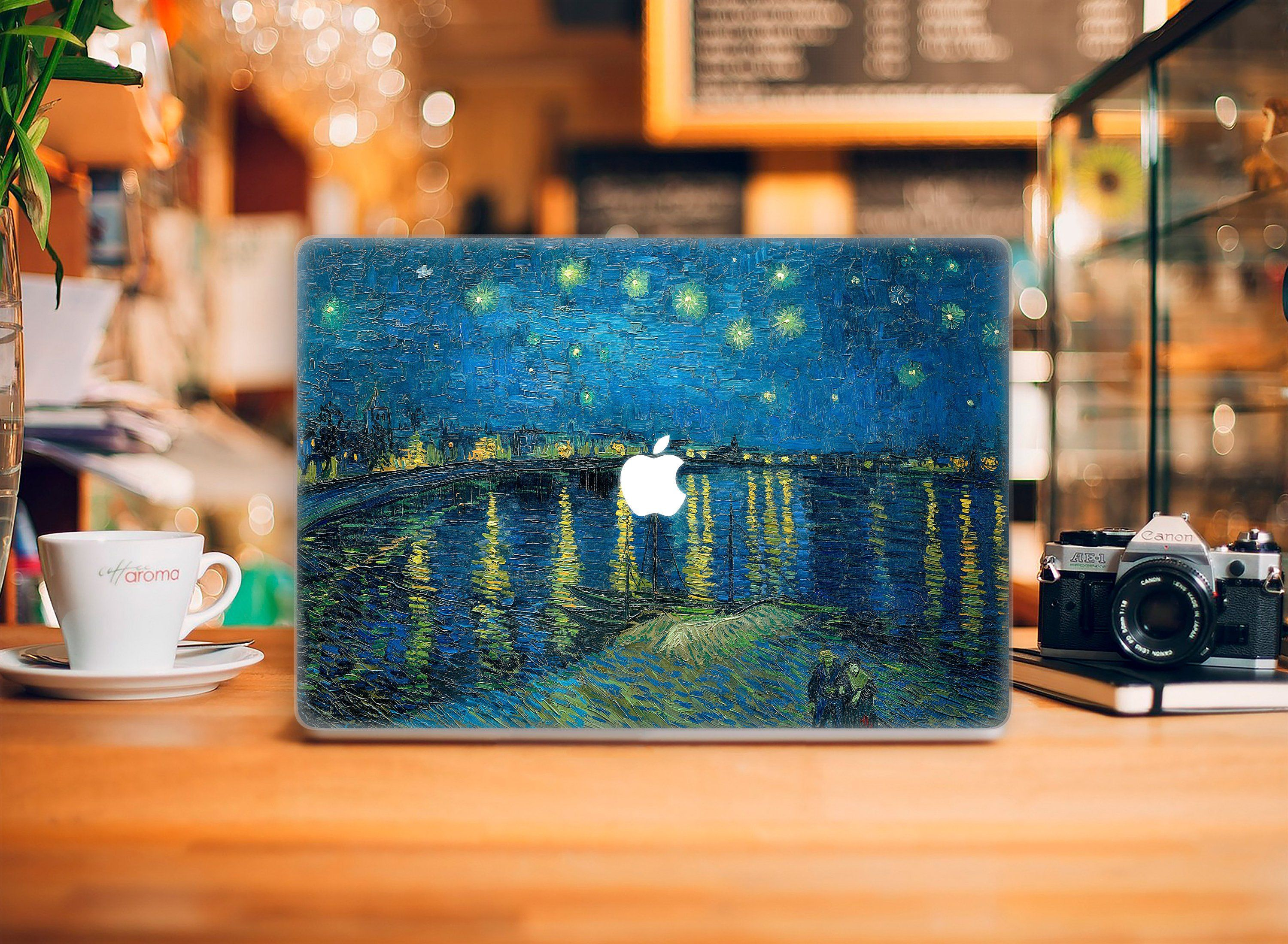 Van Gogh Starry Night Painting Case Macbook 12 Hard Case