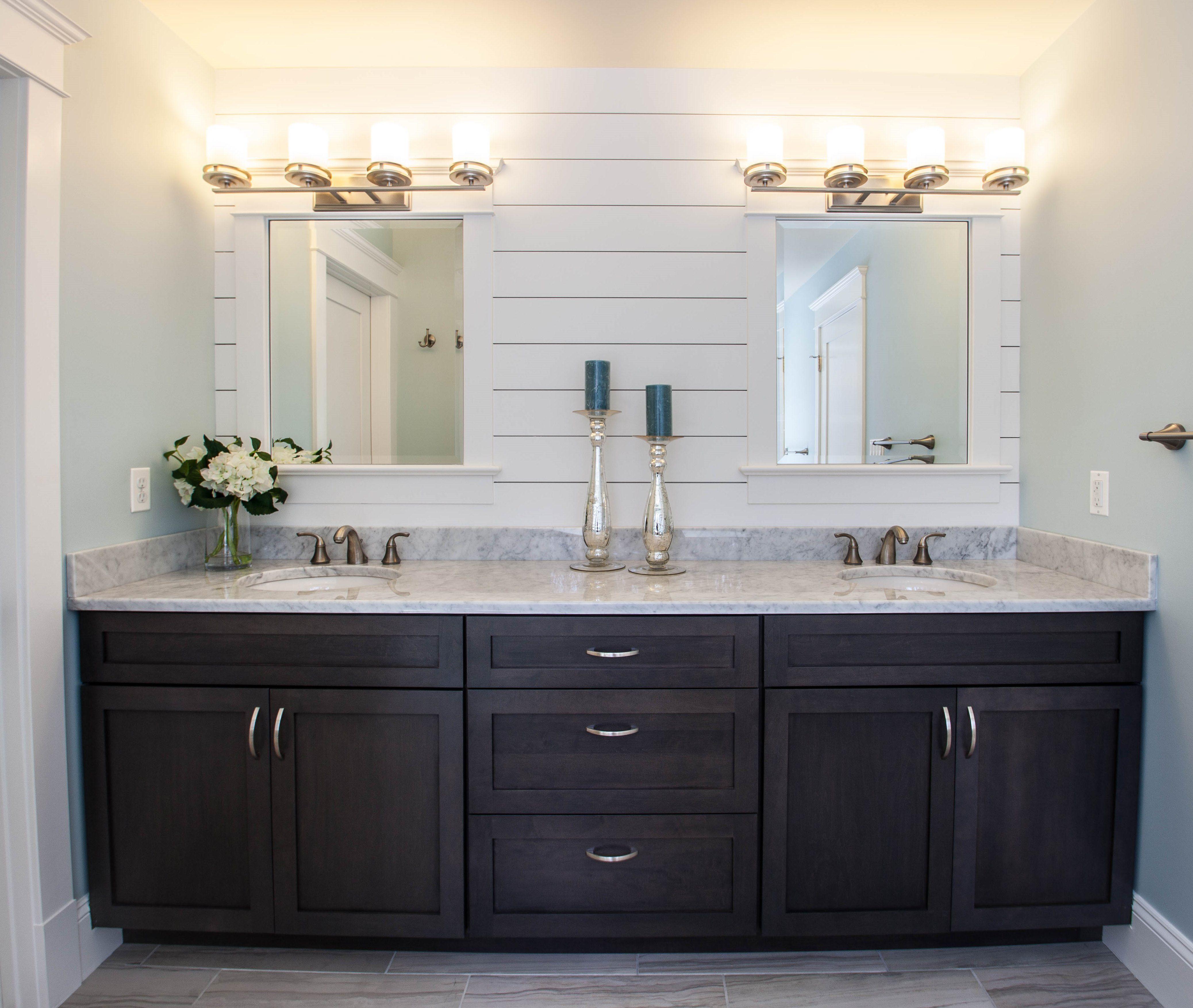 Grey Stained Bathroom Vanity Bathroom Makeover Grey Stain Vanity