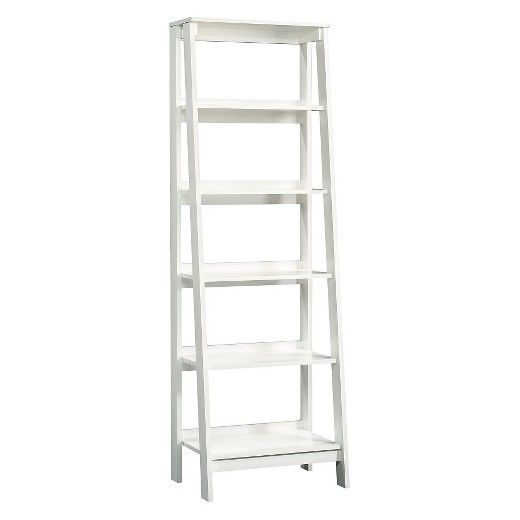 Stylish And Functional Two Words That Describe This Room Essentials Bookcase Open Shelf Ladder Style Library Features Five Sizes Provide