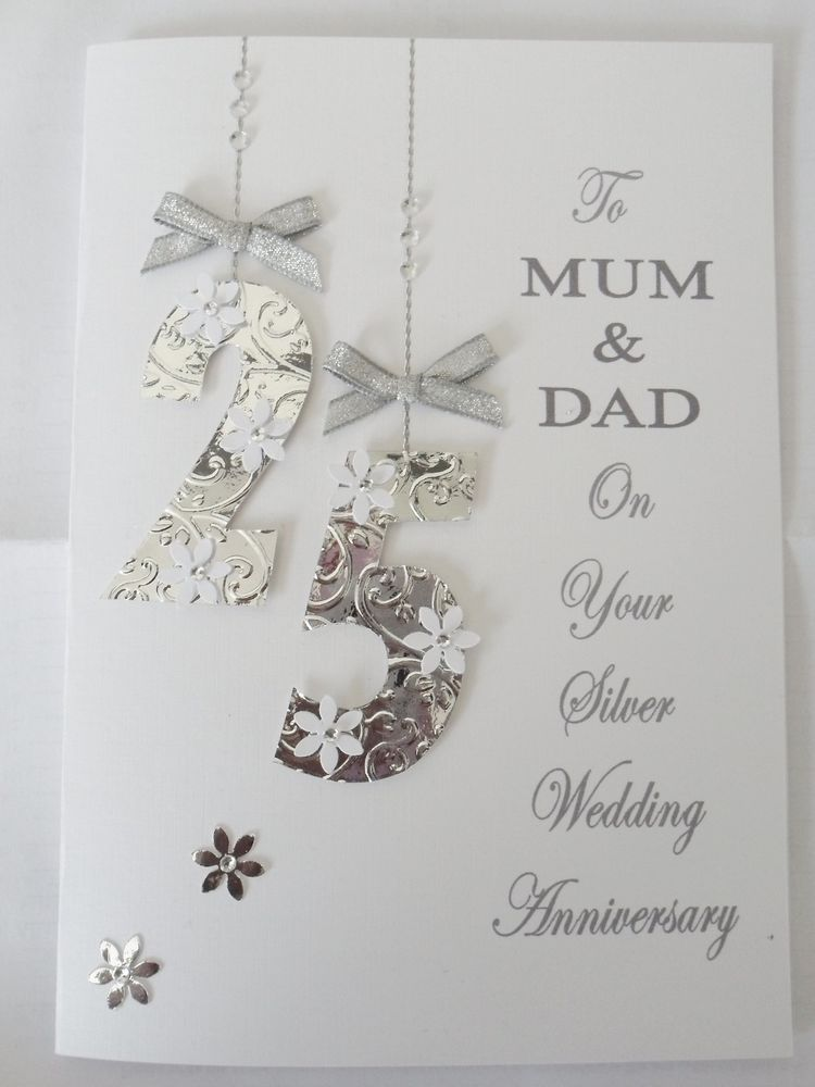 Silver Wedding Anniversary Present For Husband : ... anniversary, Wedding anniversary and 25th wedding anniversary gift