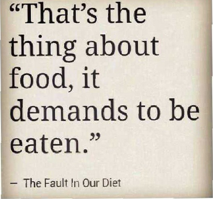 The Fault In Our Diet.
