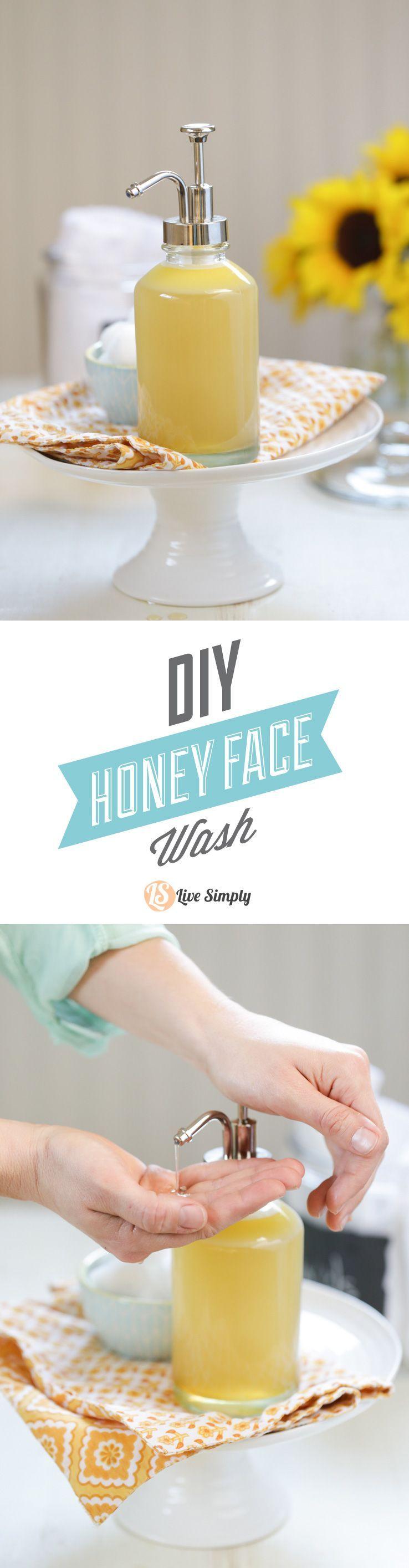 DIY Homemade Honey Face Wash – Live Simply