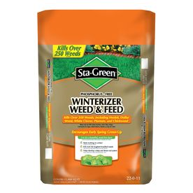 Sta Green 15 000 Sq Ft Summer Fall Weed And Feed Lawn