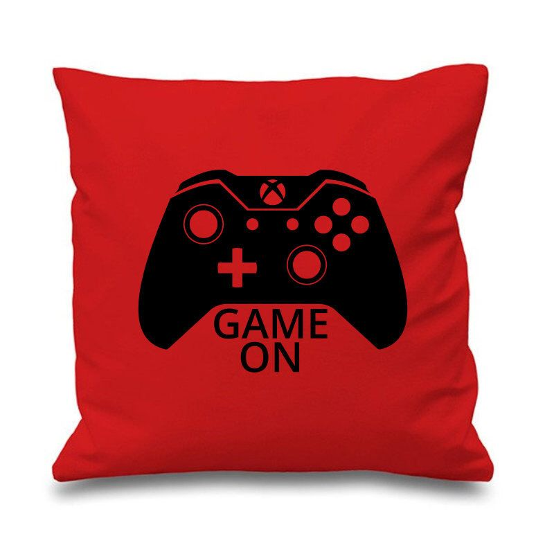 "Awesome Game Room Ideas: Awesome ""Game On"" Gamer Cushion Pillow Gaming Xbox 360 One"