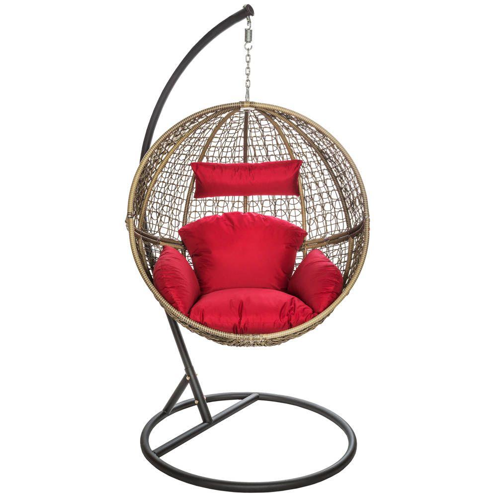 pin von tectake auf garten und heimwerken pinterest sessel h ngesessel mit gestell und st hle. Black Bedroom Furniture Sets. Home Design Ideas