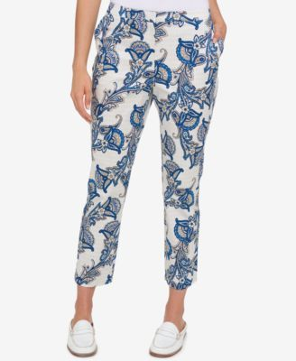 750252294e74 Tommy Hilfiger Printed Cropped Pants, Created for Macy's | JA