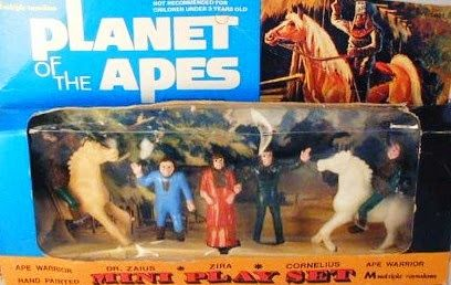 John Kenneth Muir's Reflections on Cult Movies and Classic TV: Go Ape Week: Planet of the Apes Mini-Playset (Mult...