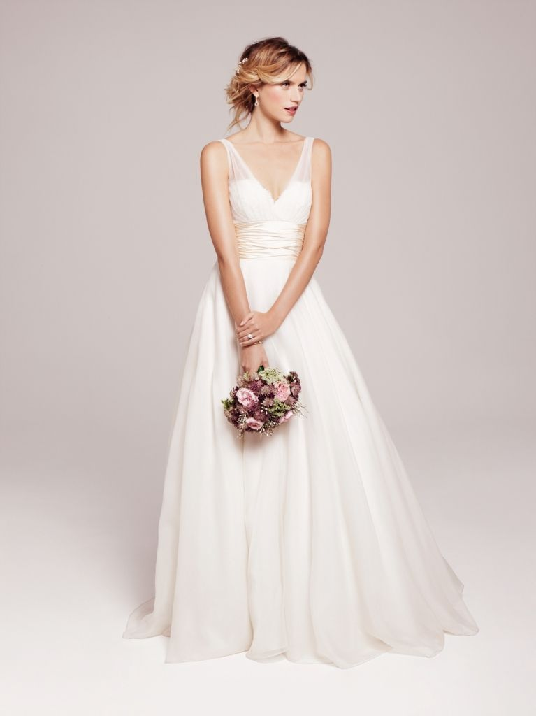 Anne Barge 'Emmanuelle' gown: soft, sweet, romantic