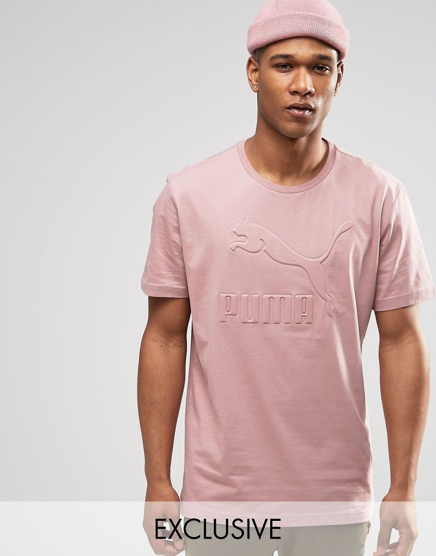 Image 1 of Puma Oversized T-Shirt In Pink Exclusive To ASOS
