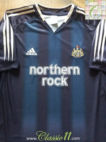 Relive Newcastle United s 2004 2005 season with this vintage Adidas away football  shirt. cbd8e7e97