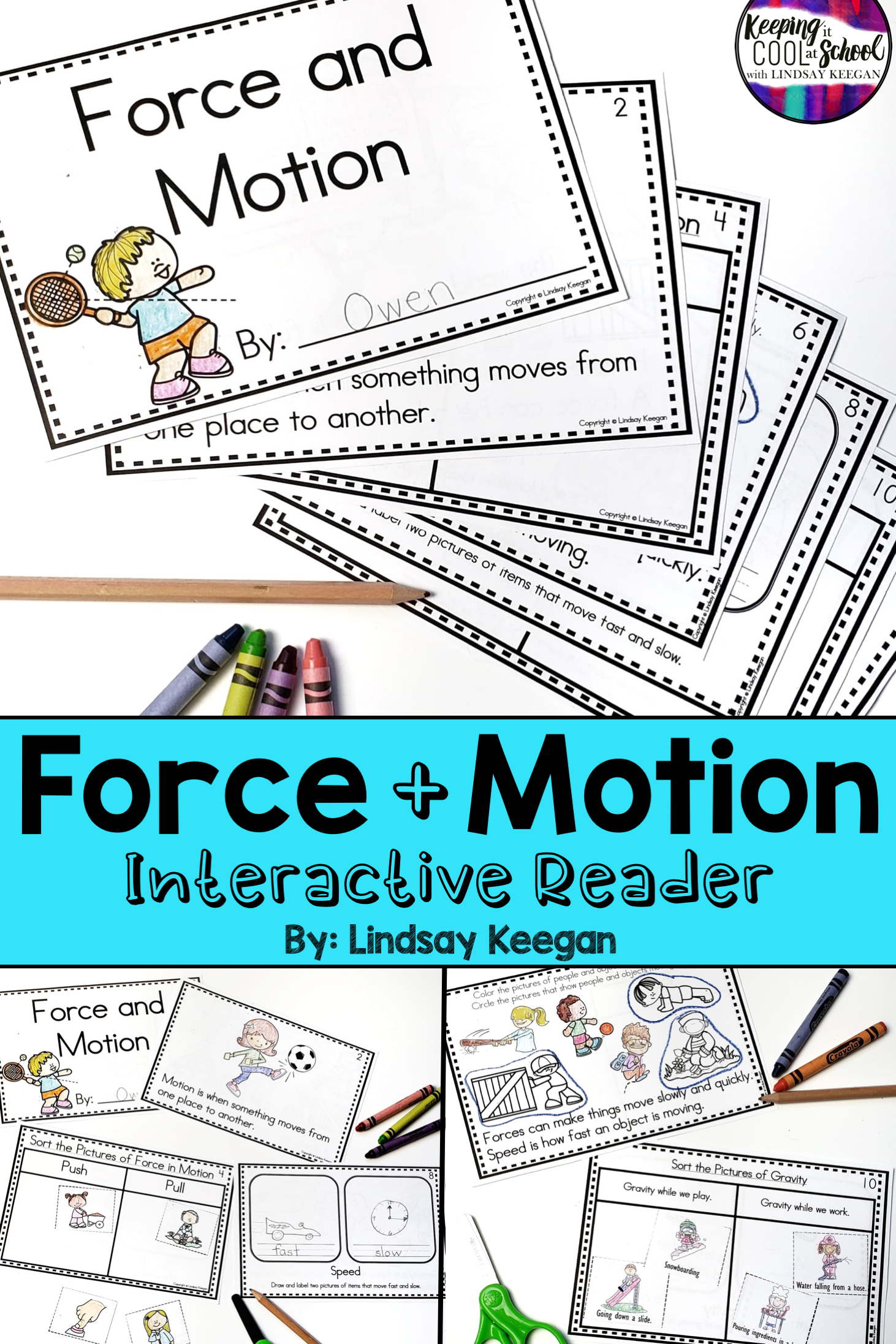 Force And Motion Interactive Reader