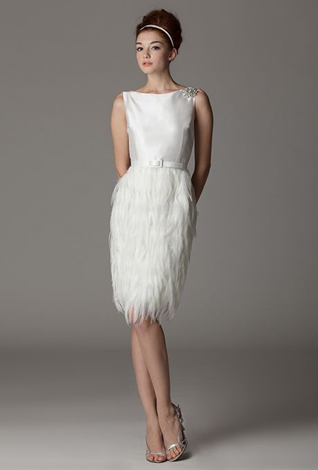 Knee-Length Getaway Wedding Gowns for Your Second Time Around: Part ...