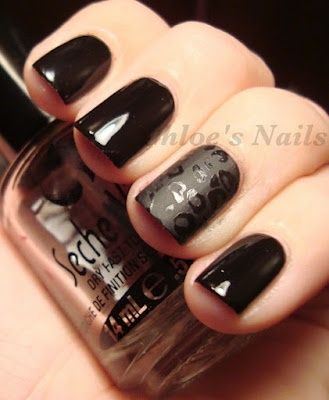 Photo of matte accent nail  | Check out www.nailsinspirat… for more inspiration!