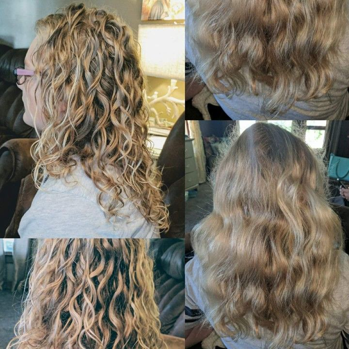 Monat Curls Before And After With The Magnify System On My Daughter S Curls Perfectly Defined Curls With Monat Rockinl Monat Hair Natural Curls Defined Curls