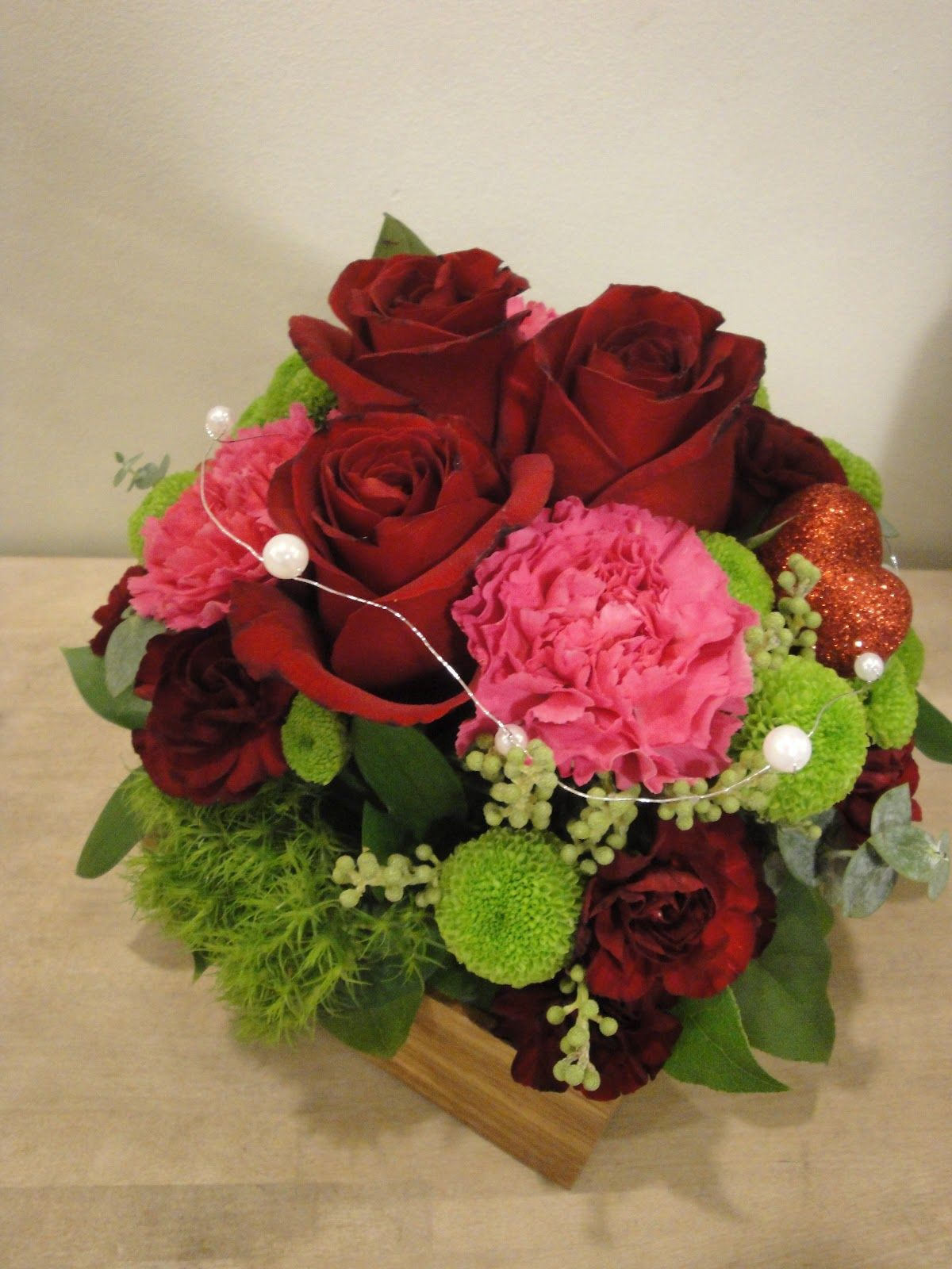 valentine floral arrangements | ... by Queensberry Flower Company ...