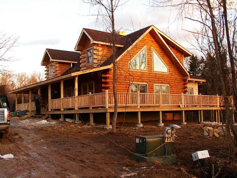 Gastineau Log Home Prices