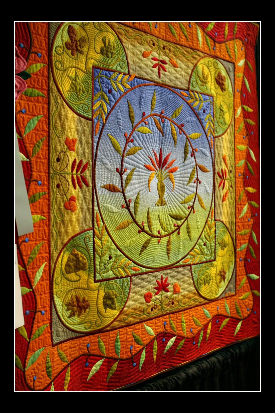 24th AQS Quilt Show in Paducah - Best Wall Quilt