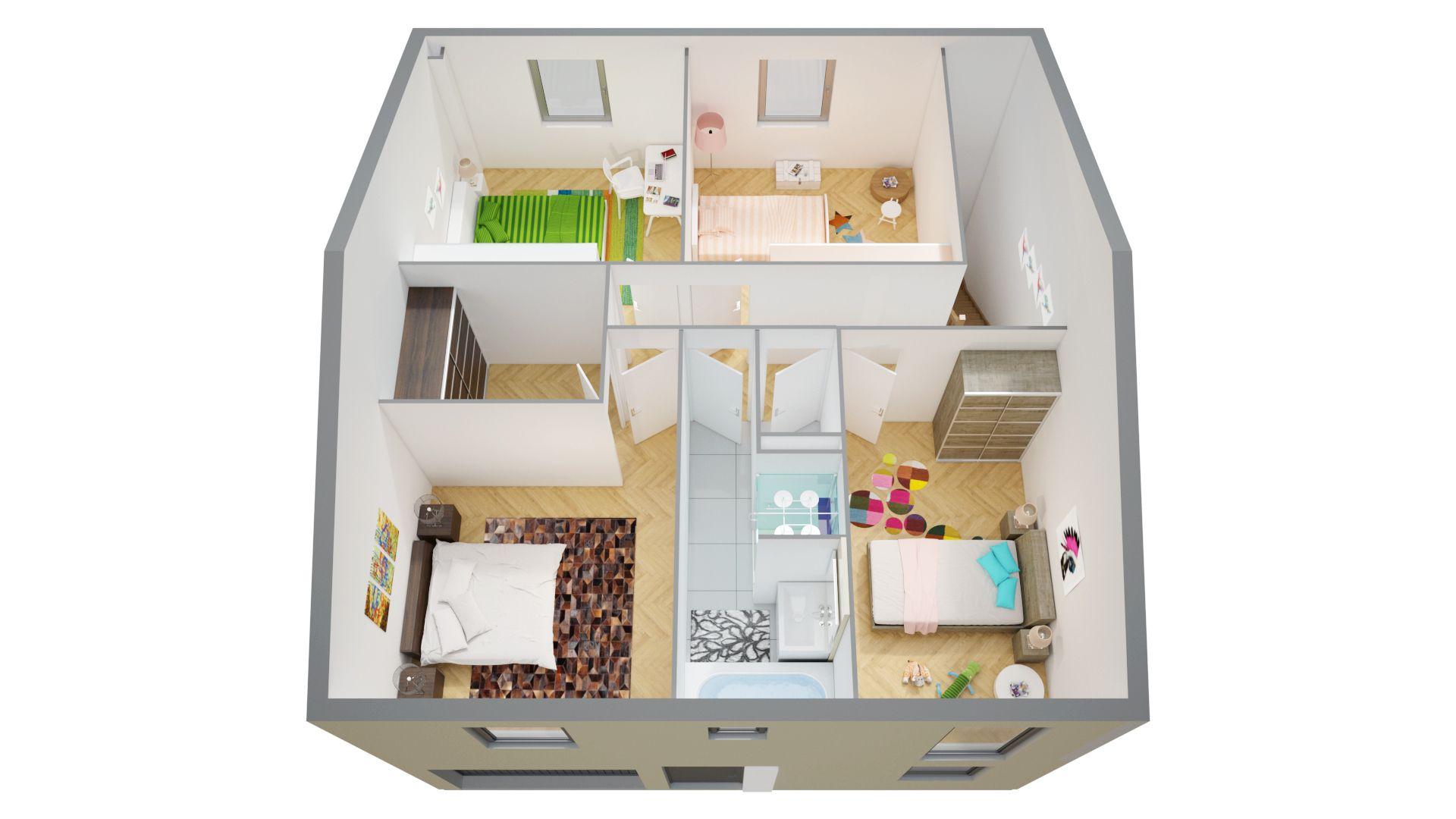 Maison A Etage Individuelle Maisons Phenix Maison Phenix Plan Maison Plan Maison 3 Chambres