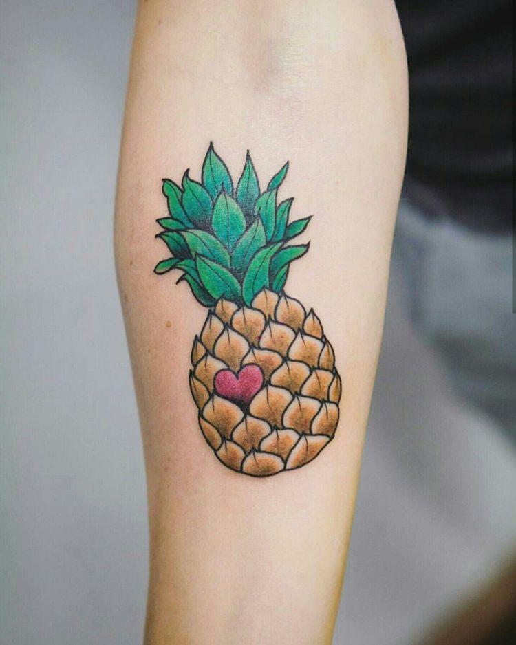 Ananas Tattoo Und Seine Bedeutung Tattoo Bedeutung