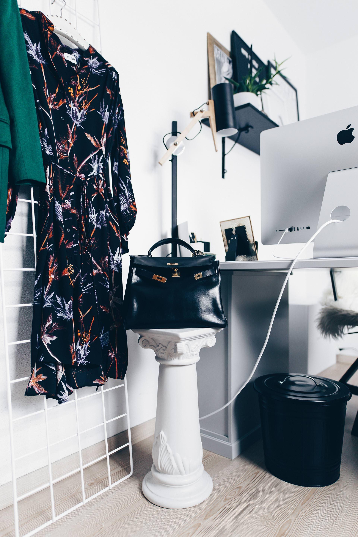 Arbeitsplatz Zuhause Einrichten Und Gestalten, 5 Ideen Für Mehr Stil Im  Blogger Home Office,