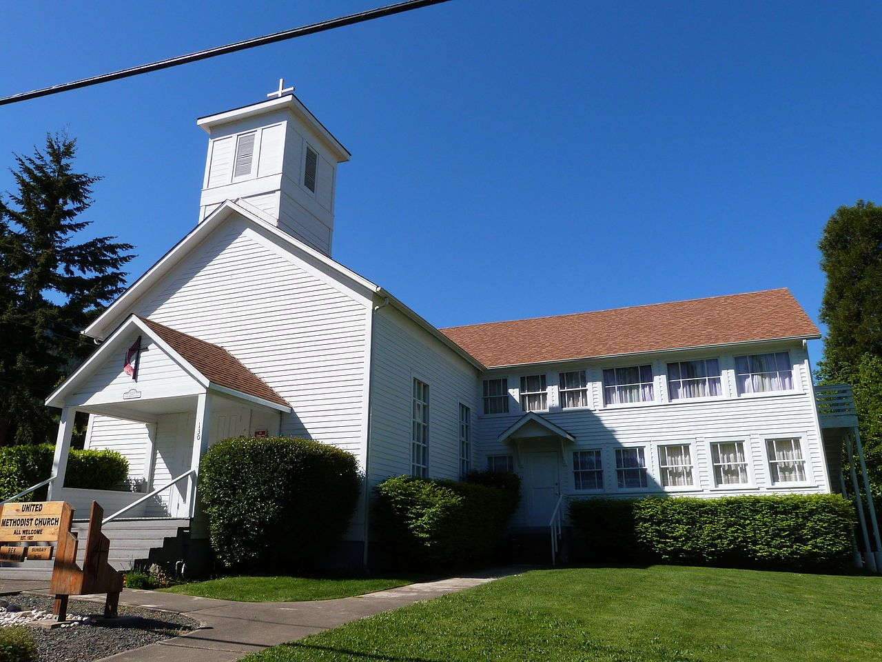 Canyonville methodist church in douglas county oregon