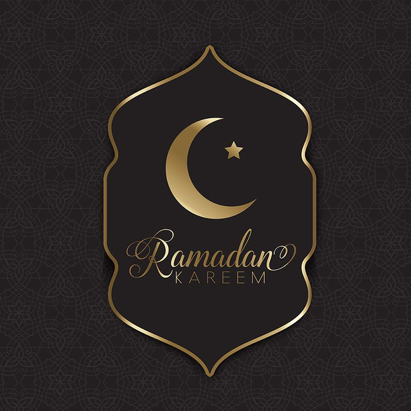 Gold And Black Ramadan Lantern Moon Background Ramadan Kareem Black Background Png And Vector With Transparent Background For Free Download Ramadan Lantern Ramadan Ramadan Background