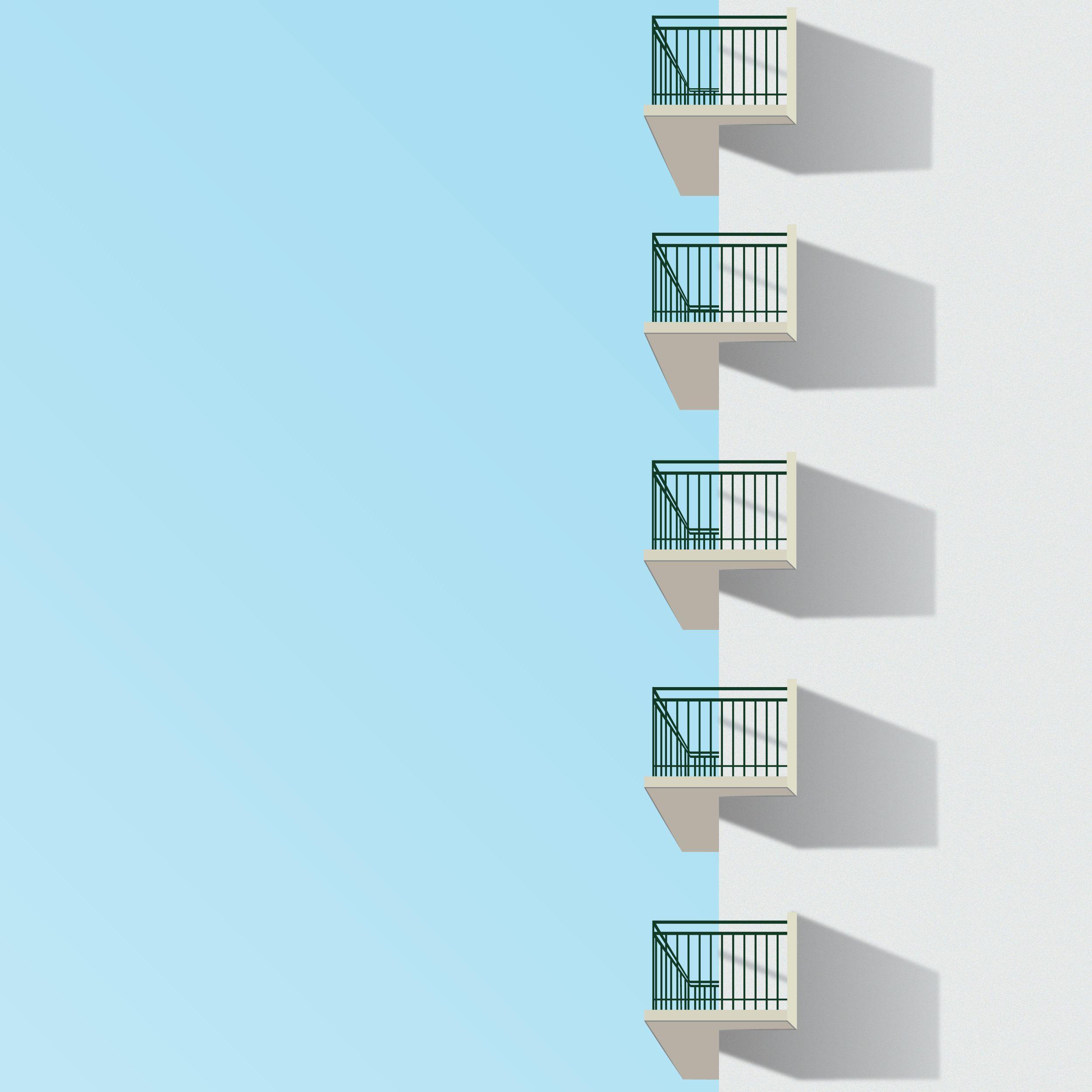 Minimalist Balcony. #balcony #minimalism #design
