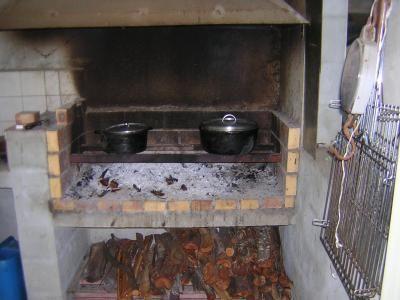 Cuisine feu de bois google search kitchen pinterest - Cuisiner au feu de bois ...