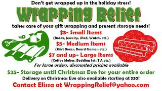 Pin On Giftwrapping Fundraiser