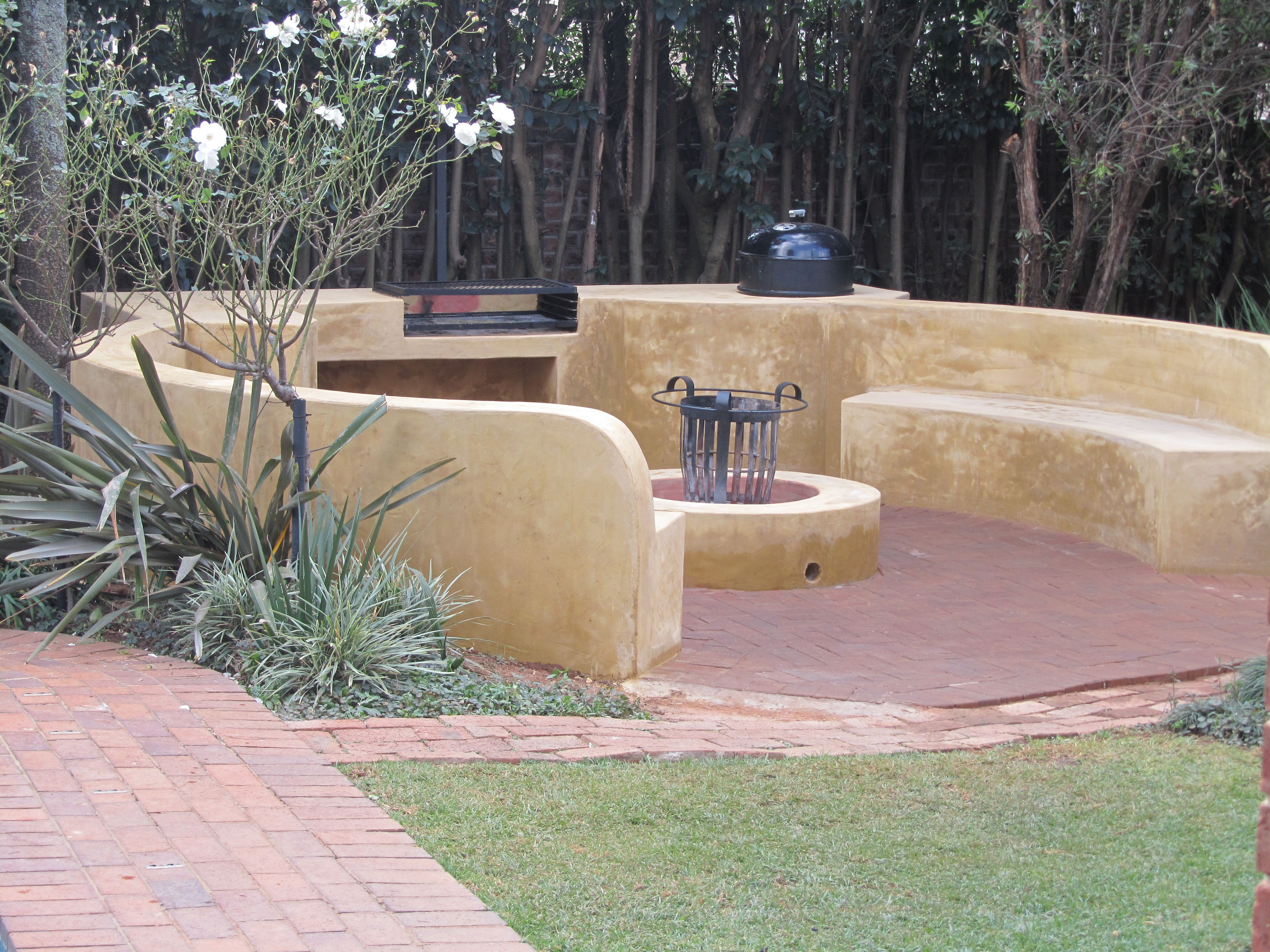 African Themed Boma by Create a Landscape | Boma Project ... on Boma Ideas For Small Gardens id=98101