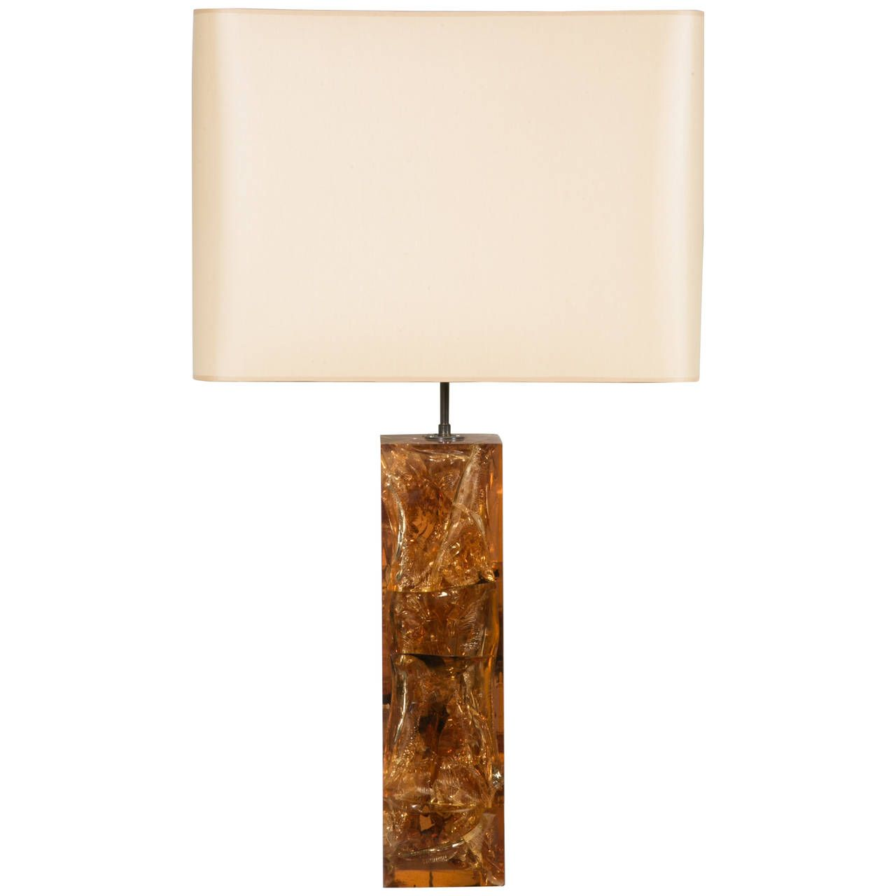 Important And Beautiful Table Lamp By Marie Claude De Fouquieres