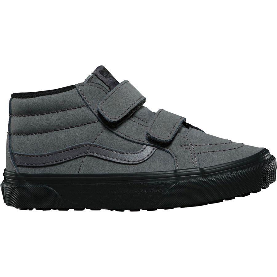169fb40859f0 Vans - Sk8-Mid Reissue V MTE Shoe - Kids  - (mte) Vansbuck Forged Iron Black