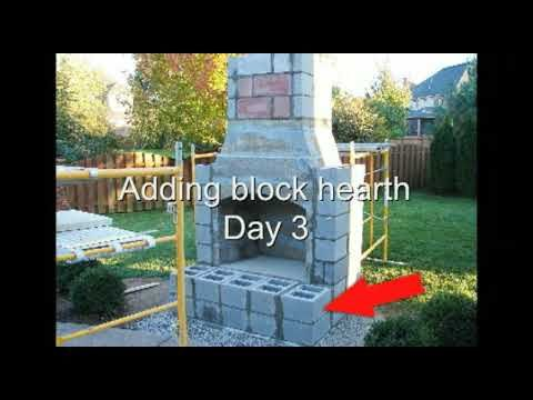 Build Your Own Outdoor Fireplace | Firerock Fireplace Installation   Outdoor  Fireplace