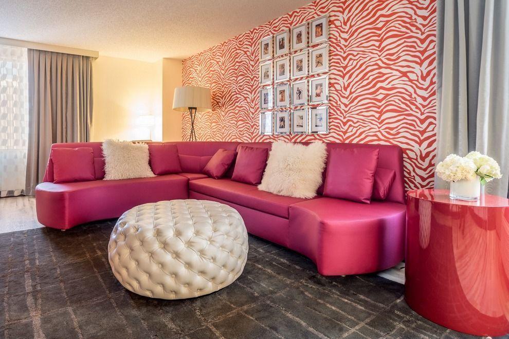 SPICE GIRLS SUITE in Denver | pink hotel rooms | Pinterest | Hotel ...