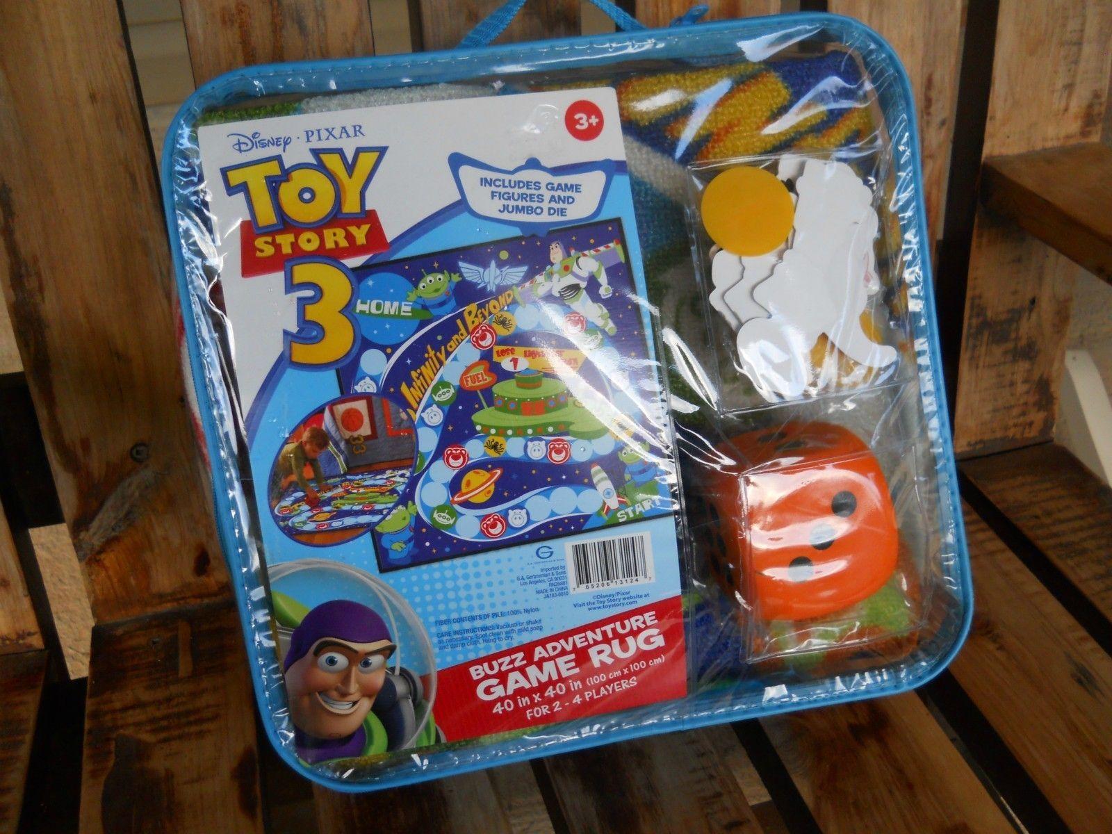 Disney Pixar Toy Story 3 Buzz Adventure Game Rug Disney