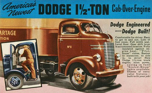 Image result for 1940 Dodge COE tractor