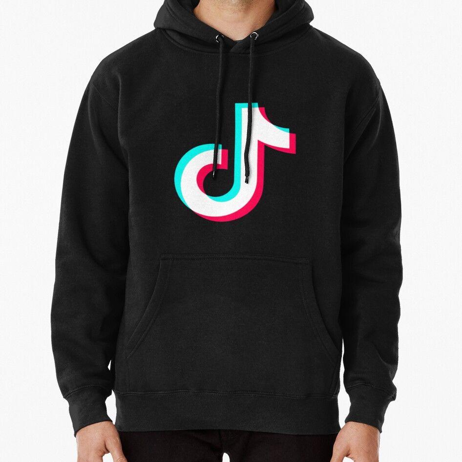 Tiktok Pullover Hoodie in 2020 Hoodies, Fleece hoodie, T